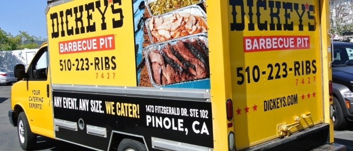Dickey's Barbecue Pit – Box Truck Wrap