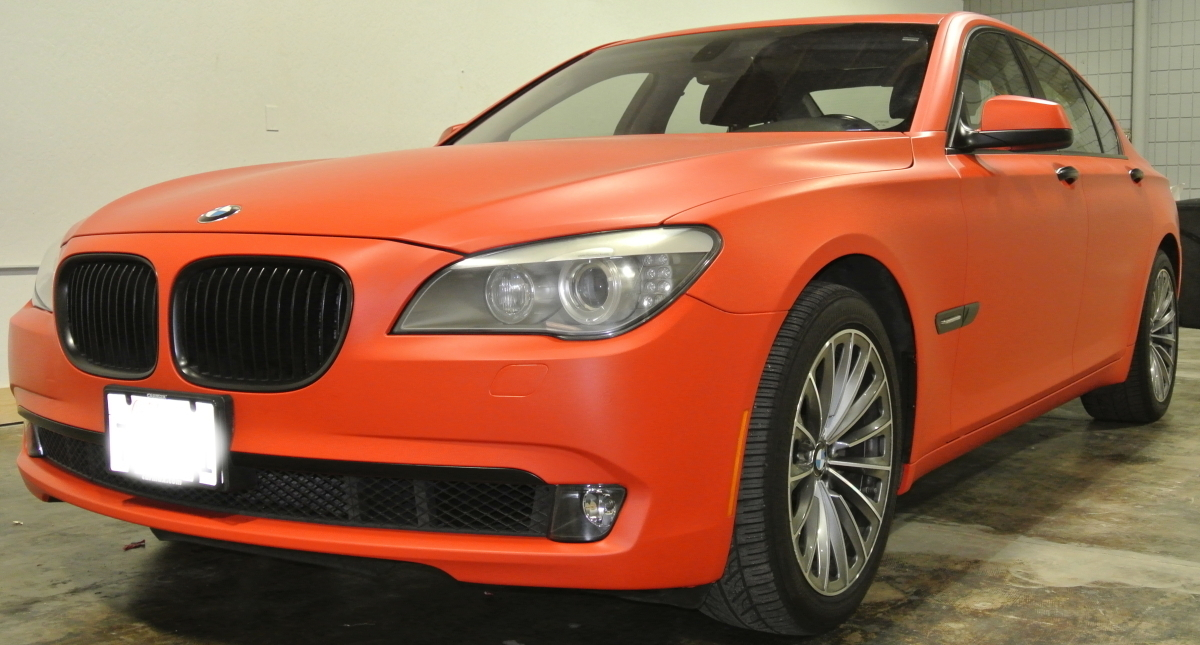 Orange BMW Diagonal Left 2