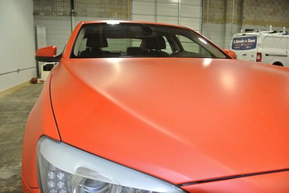 Orange BMW Front 2
