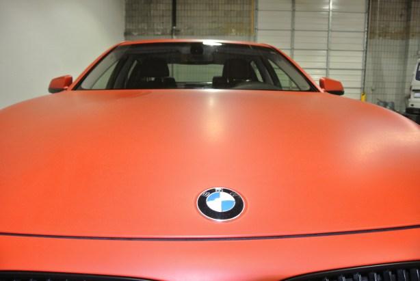 Orange BMW Front 3
