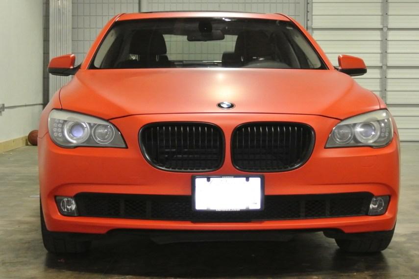 Orange BMW Front 4