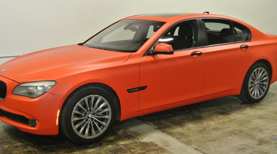 BMW Matte Red Color Change