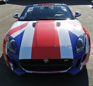 british motor car wrap front
