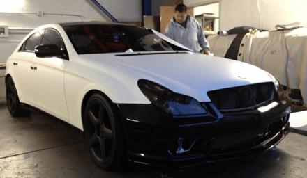 Mercedes Half White Wrap