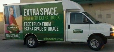 extraspace boxtruck wrap side
