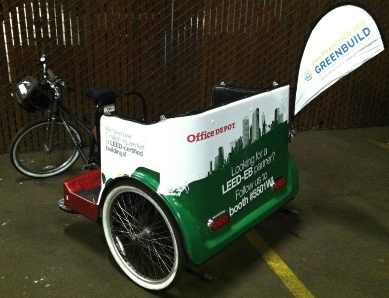 officedepot bike cart wrap