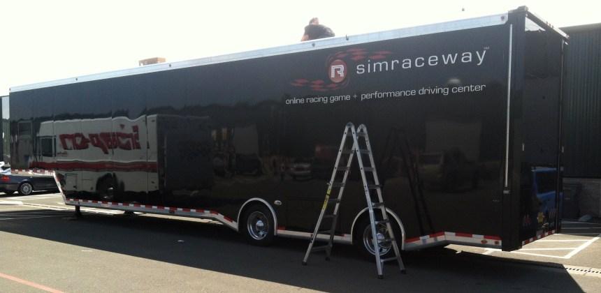 simraceway side wrap