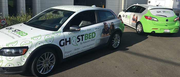 GhostBed Fleet Wraps