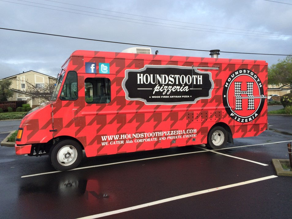 Houndstooth Food Truck Wrap Side