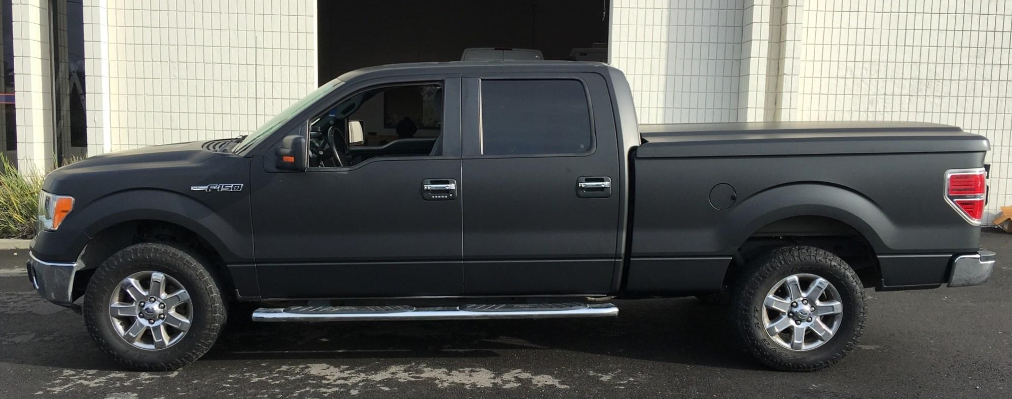matte wrap f150 truck 14