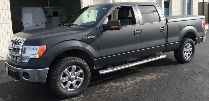 matte wrap f150 truck 16