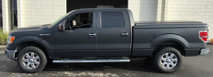 matte wrap f150 truck 17