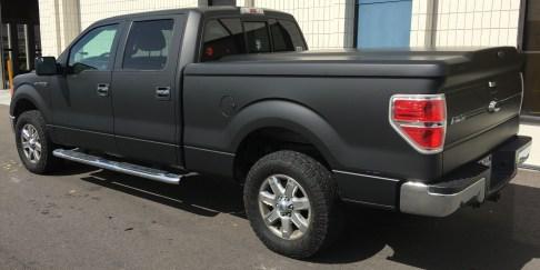 matte wrap f150 truck 21