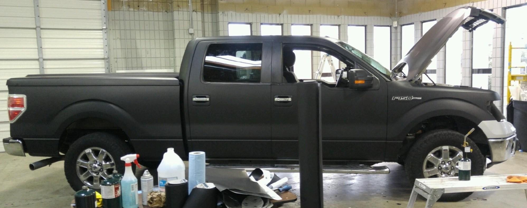 matte wrap f150 truck 7