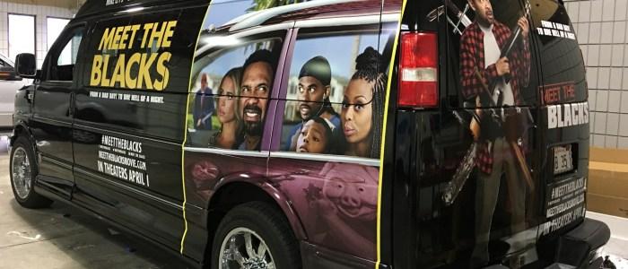 Meet The Blacks Movie Van Wrap