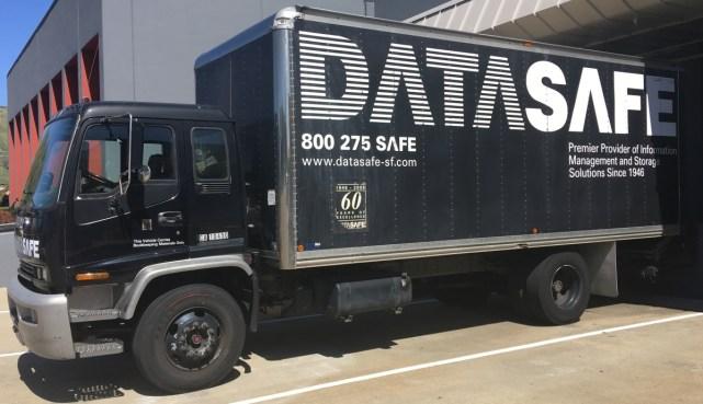 datasafe truck wrap 1