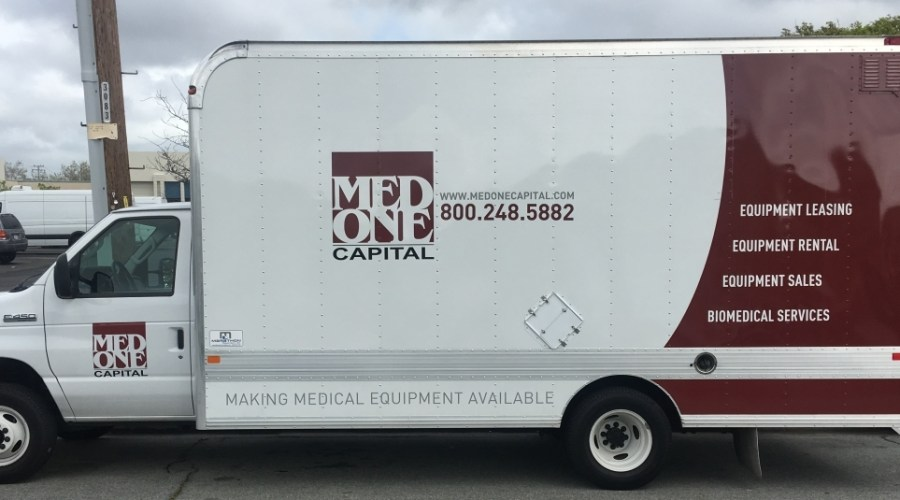 Truck Wrap for Med One Capital