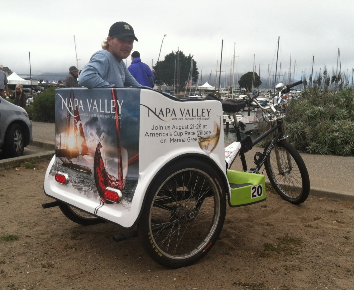 Pedicab Wrap