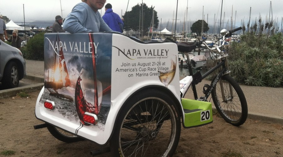 Pedicab Vehicle Graphics