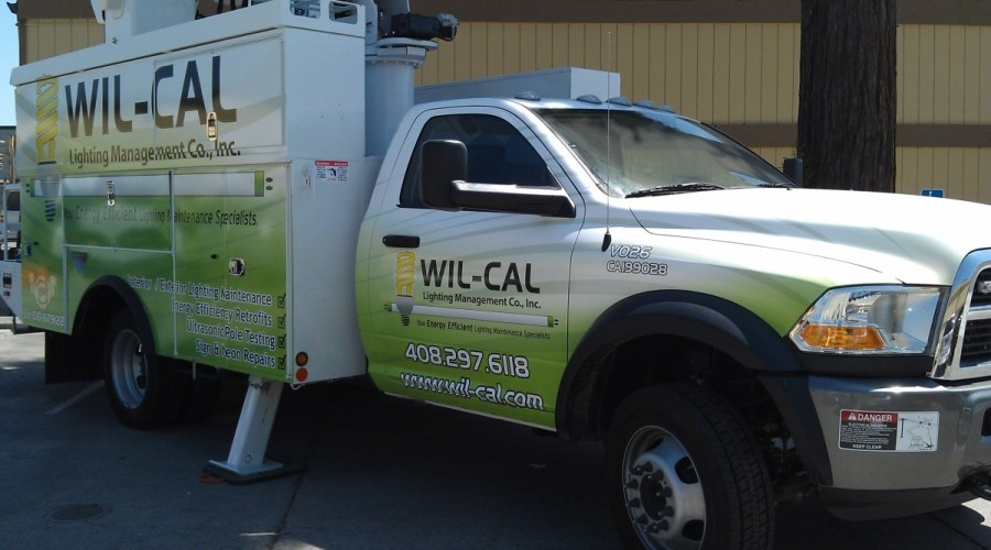 Contractor's Truck Wrap for Wil-Cal