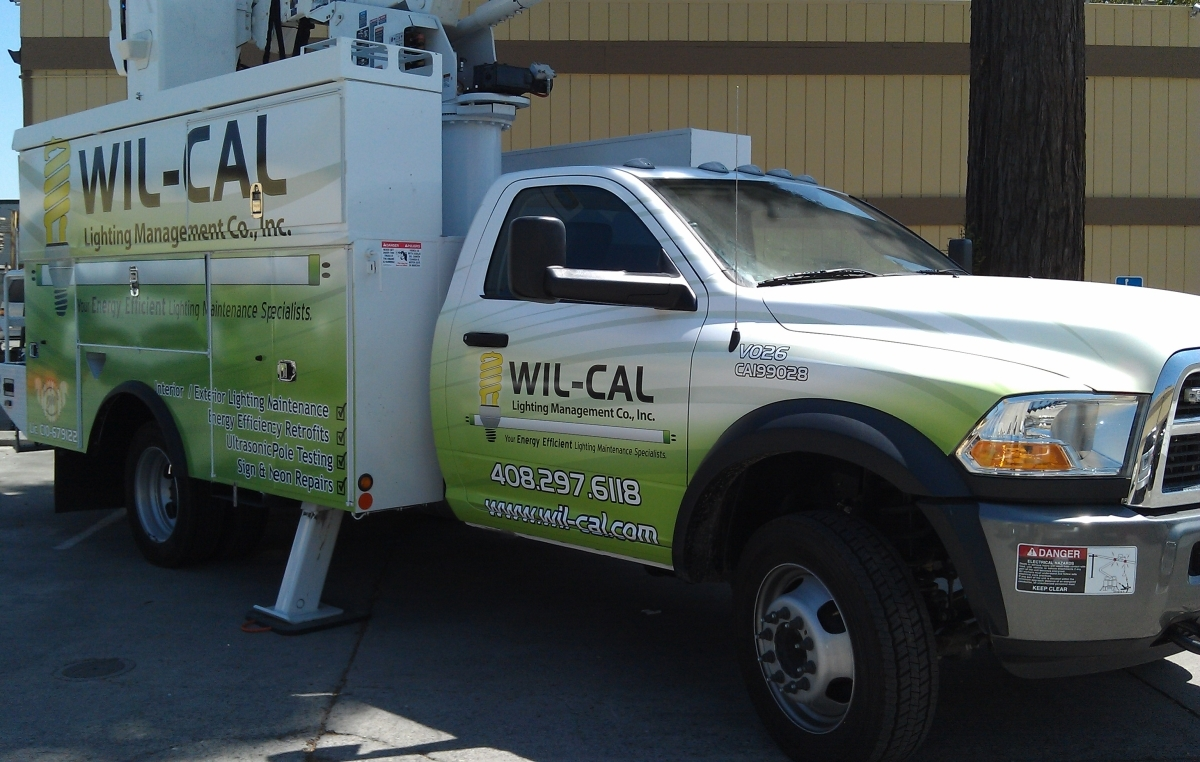 Wil-Cal Truck Wrap