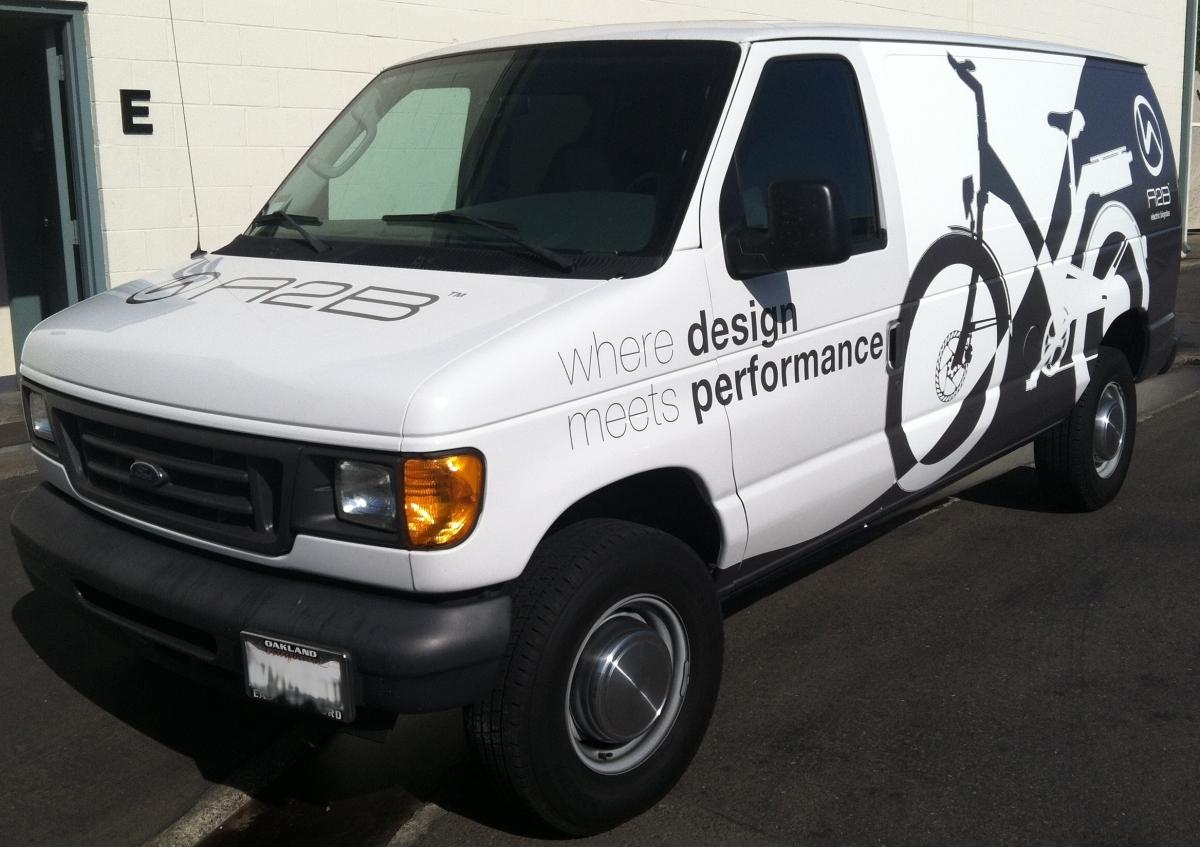 a2b van wrap left diag