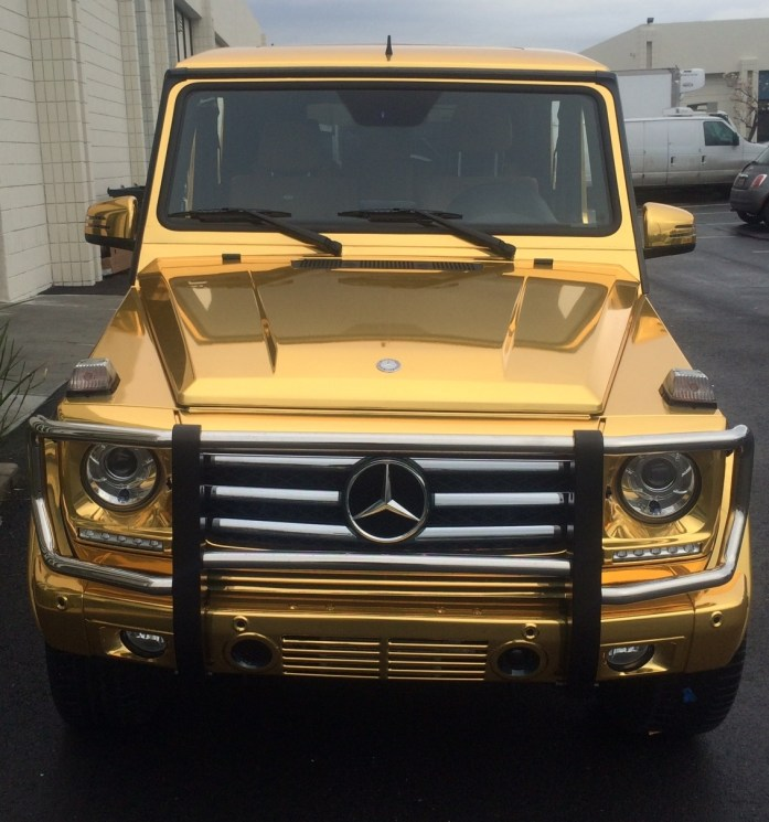 gold mercedes wrap5