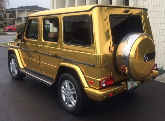 gold mercedes wrap6