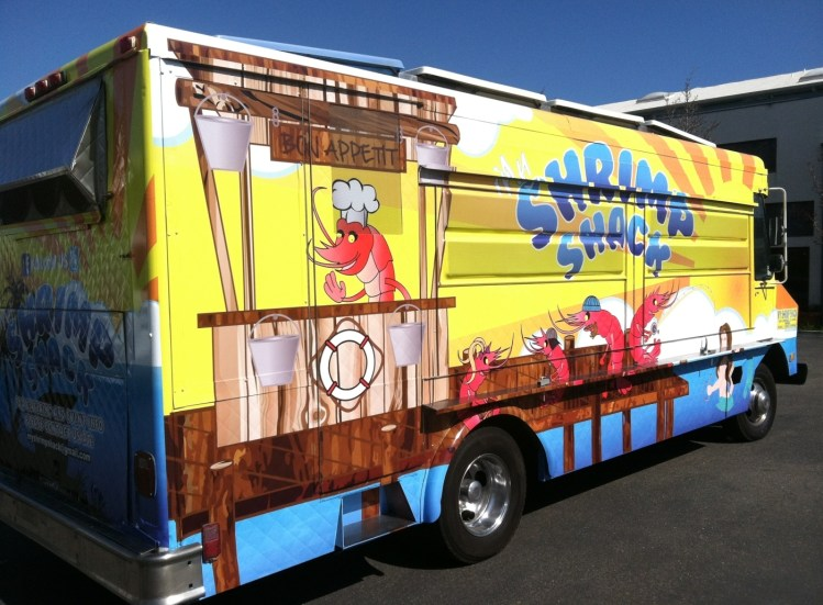 shrimpshack food truck wrap6