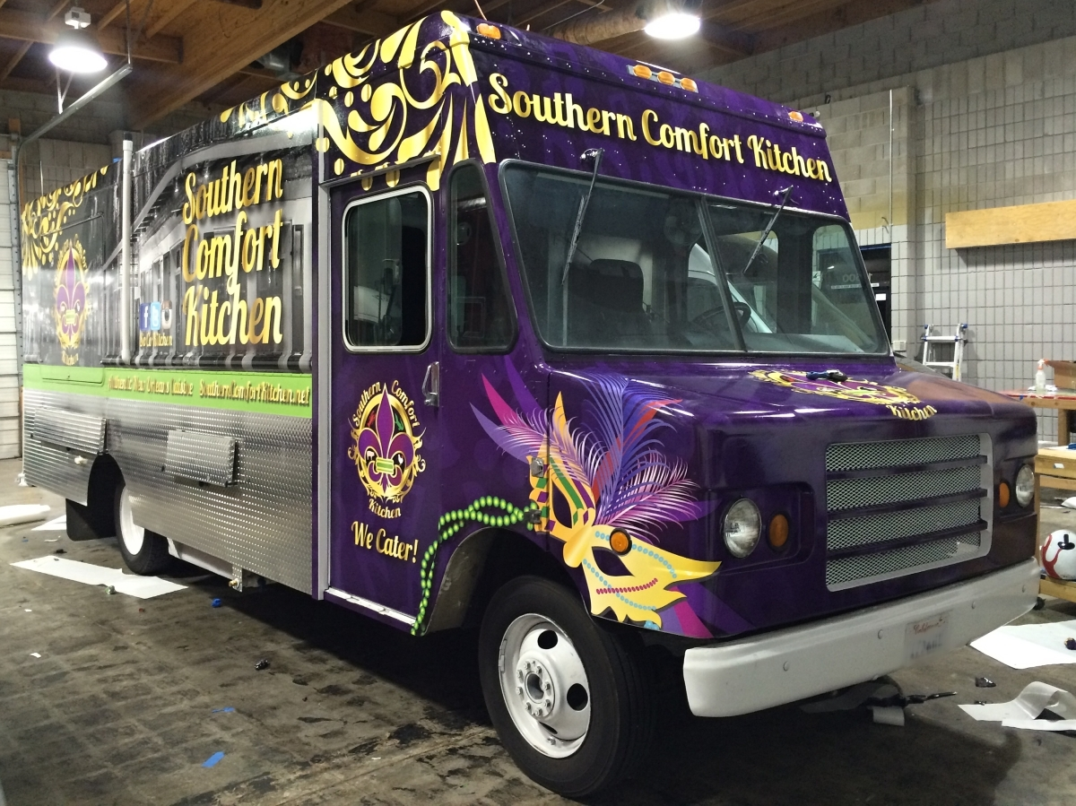 soco food truck wrap 2 - Southern Comfort Kitchen
