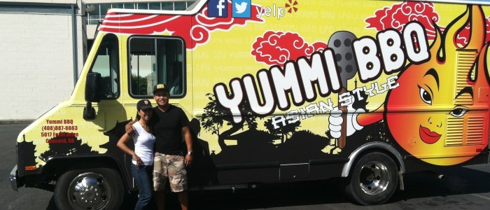 Yummi BBQ Food Truck Wrap
