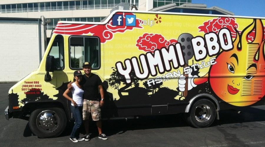 Yummi BBQ Food Truck Wrap