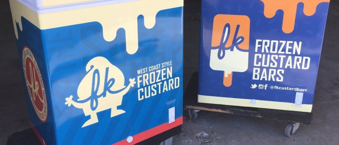 Frozen Custard Freezer Wraps