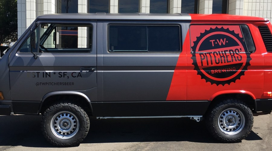 Van Wrap for TW Pitchers Brewing Co