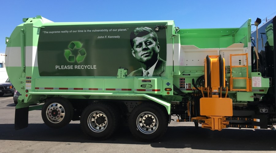 Tri-CED Recycling Fleet Wraps