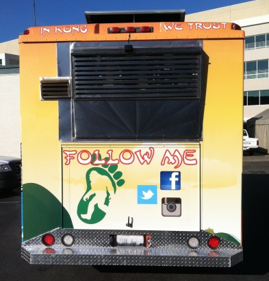 Food Truck Wrap for Hongry Kong