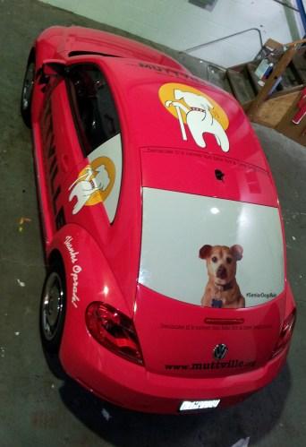 muttville car wrap