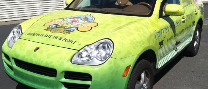Car Wrap for Pawtrero Bathhouse & Feed Co