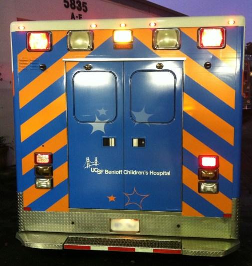 Ambulance Wrap for University of California San Francisco Children's Hospital