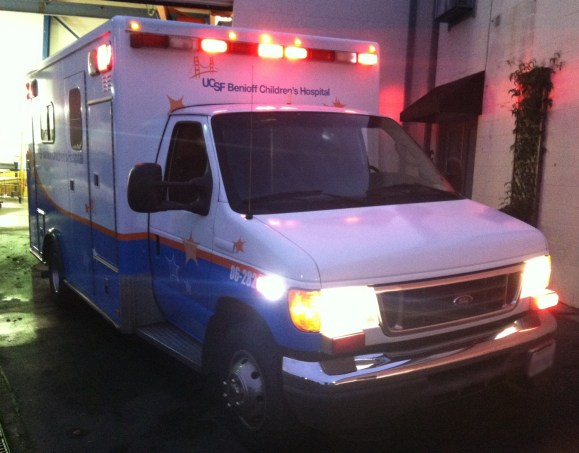 UCS Ambulance Wrap