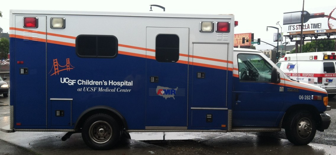 Ambulance Wrap for University of California San Francisco Children's Hospital
