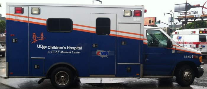 Ambulance Wraps for UCSF Children's Hospital