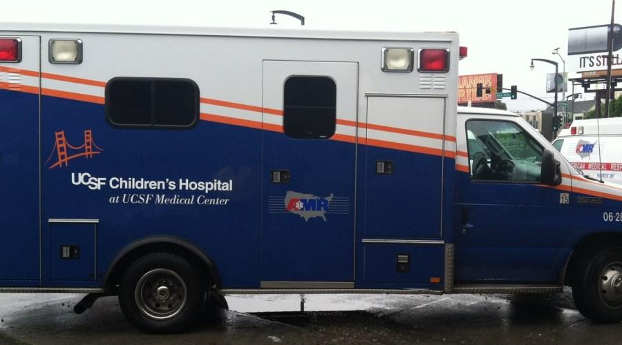 Ambulance Wraps for UCSF Children's Hospital