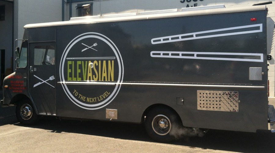 Elevasion Food Truck Wrap