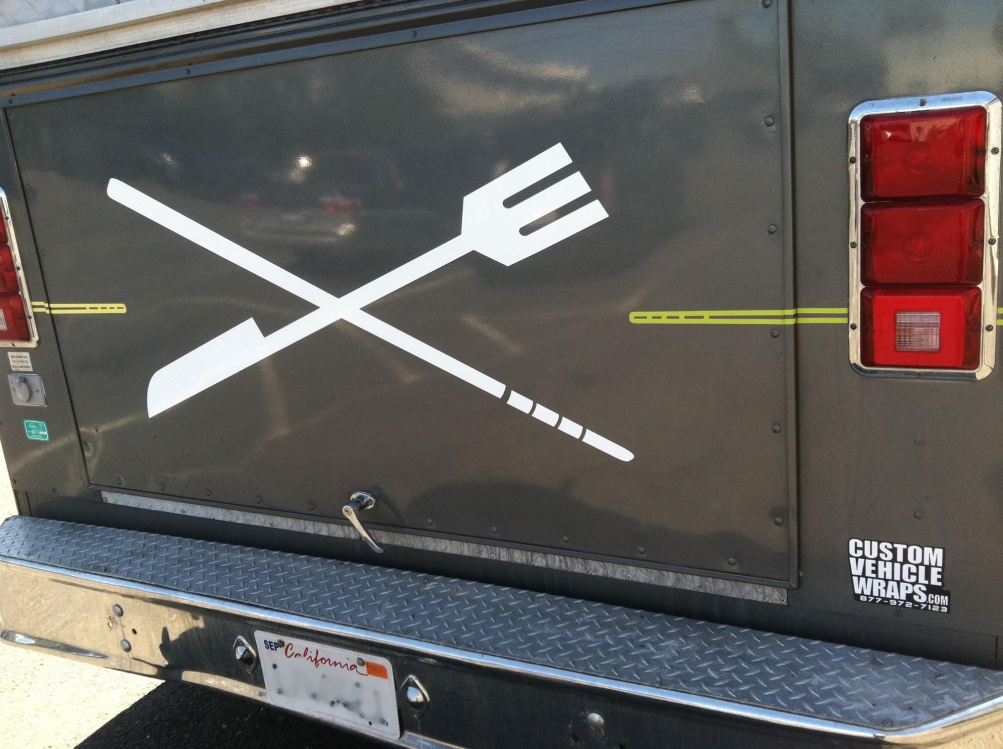 elevasion food truck wrap