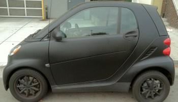 Highlight Wrap For A Smart Car Custom Vehicle Wraps