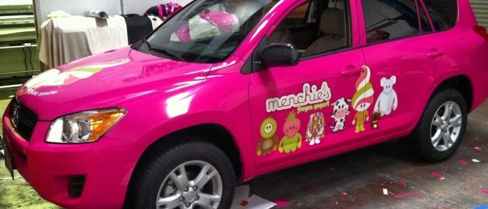 Menchies SUV Wrap