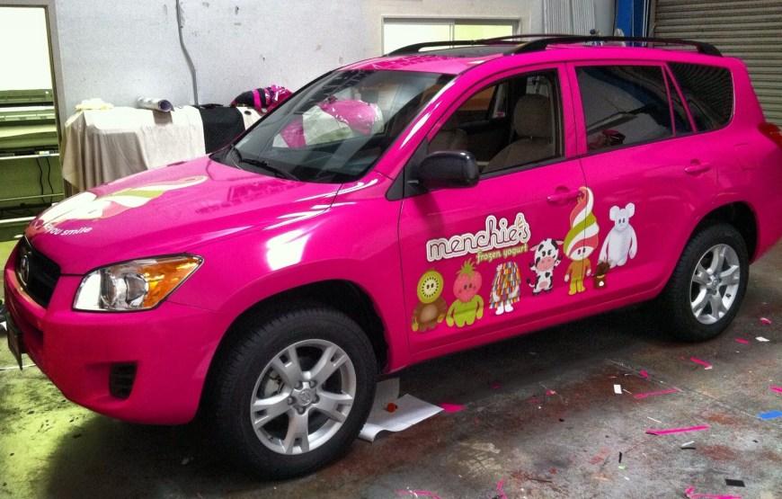 Menchies Suv Wrap Custom Vehicle Wraps