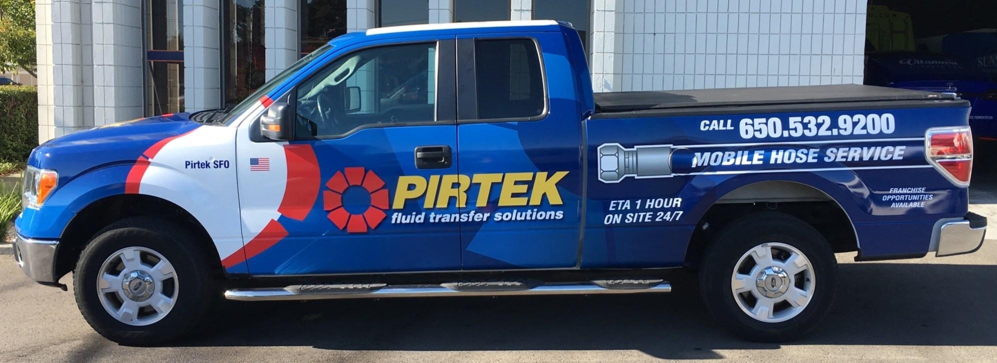 pirtek truck wrap-10