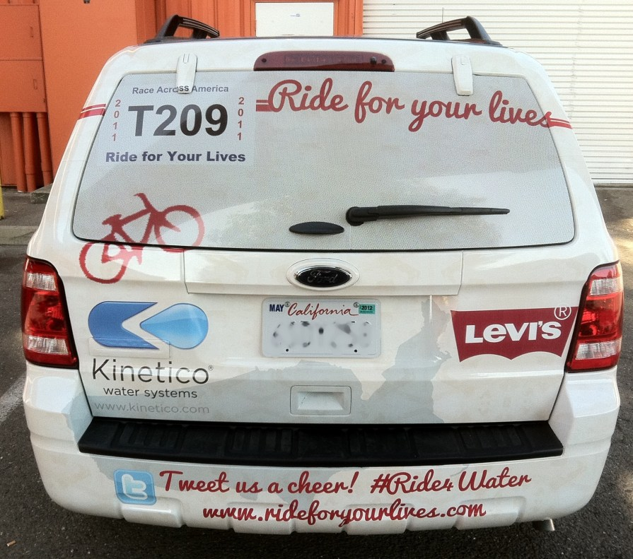 ride4water ford wrap